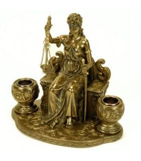 détenteurs décoratifs Thémis, déesse de la Justice
