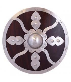 Viking bois et acier bouclier