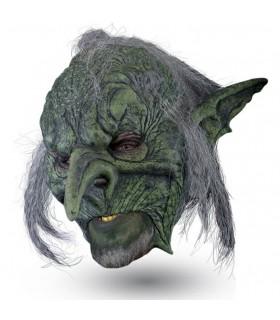 masque avec des cheveux Troll