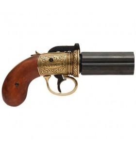 PIMENTERO revolver 6 Guns, laitonné