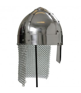 Viking casque avec chainmail