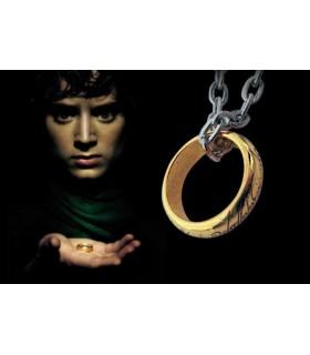 anneau simple pendentif Seigneur des Anneaux