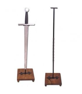 Support vertical pour l'épée