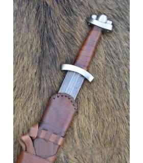 Espada Vikinga Rey Godfredo I, Acero Damasco