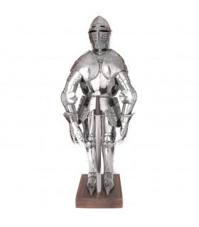Miniature armure médiévale, 71 cms.