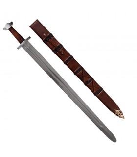Functional épée Viking avec fourreau