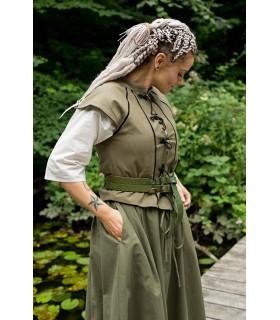 Gilet pour femme médiévale Tristan