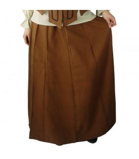Snuff médiévale femme jupe