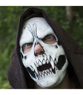 Réglable blanc masque de crâne