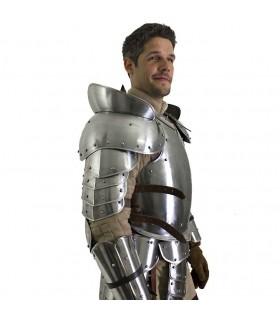 épaulette guerriers médiévaux