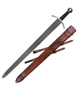 pratiques médiévales épée de fourreau
