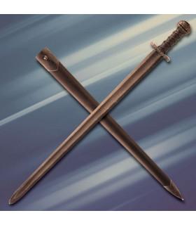 1 Acre combat médiéval à la main à l'épée, tranchant