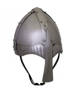 Medieval round casque Kettle, XIV siècle