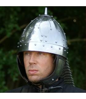 casque médiéval avec visière, 1490