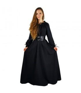 robe médiévale longue femme