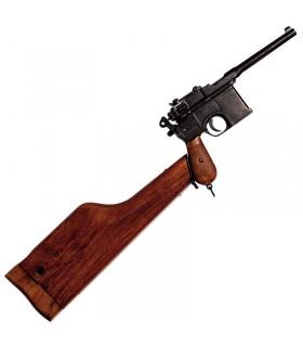 pistolet C96, conçu par Mauser, Allemagne 1896