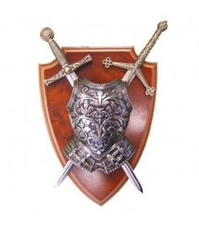 Avec pectoral et Panoply 2 épées