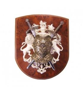 Lions et épées armure Panoply
