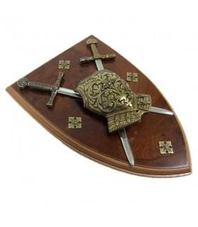 armure avec des épées Panoply