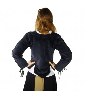 blouse froncée femme médiévale