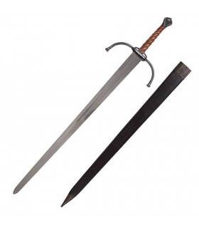Bastarda épée médiévale de longue ou de pratiques