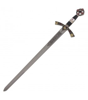 Chevaliers de cadets épée ciel. 76,5 cm.