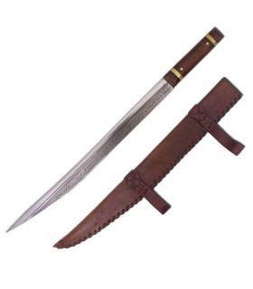 Anglo épée Sax, neuvième siècle