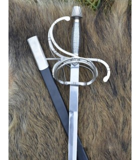 Espada Rapiera Renacimiento con vaina
