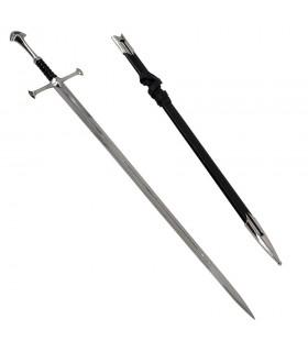 épée fantastique avec gaine (129 cm).