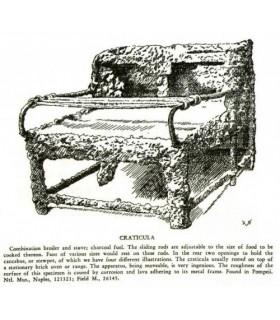 Craticula grillé romaine