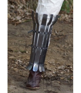 vikinga jambière en acier