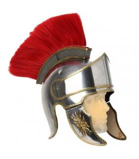 casque romain avec panache
