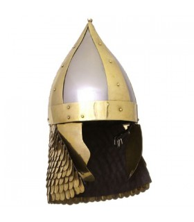 Gardien de but casque romain