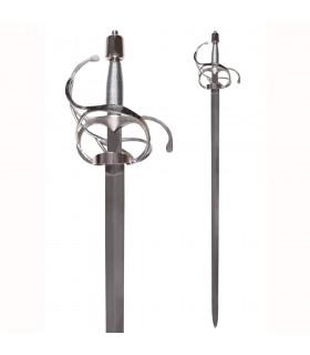 épée rapière avec feuillue