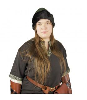 Ulf chapeau Viking Verde