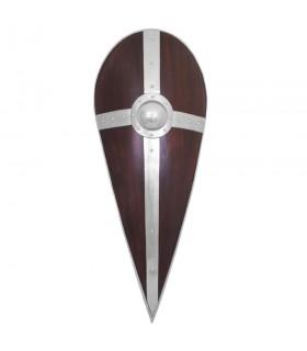 Escudo normando con cruz