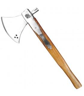 Hacha de batalla con martillo