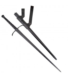 Agincourt main et un combat demi-épée, tranchant