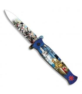 Chevaliers couteau assisté des Templiers