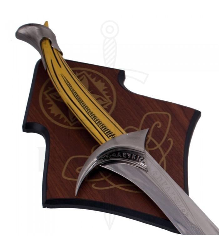 Support mural pour épées historiques