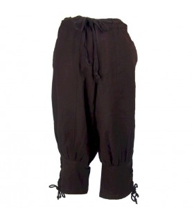 Pantalon en laine marron Viking