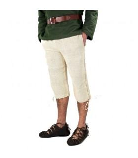 Pantalon en laine marron Viking