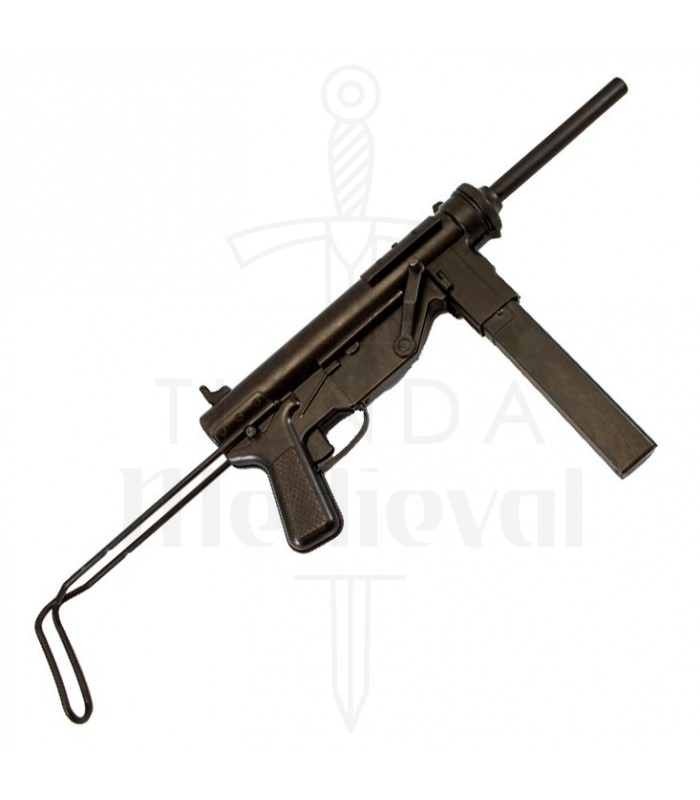 Mitrailleuse M3 Graisse Usa Seconde Guerre Mondiale Canons Et