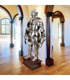 Armure gothique italienne, décorative