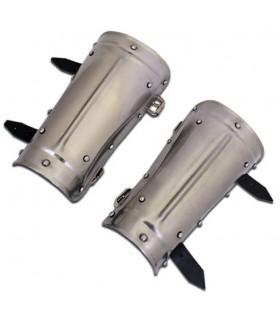 Protecteurs d'armes guerriers médiévaux