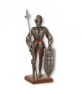 Miniatura armadura caballero medieval Águila, 42 cms.