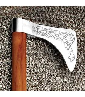 Hacha Vikinga Dragón funcional