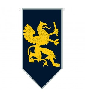 Dragon médiéval avec épée