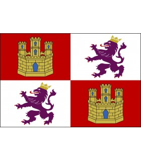 Bandera Castilla y León (para exteriores)
