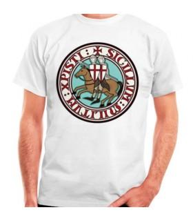 Camiseta Caballeros Templarios, manga corta